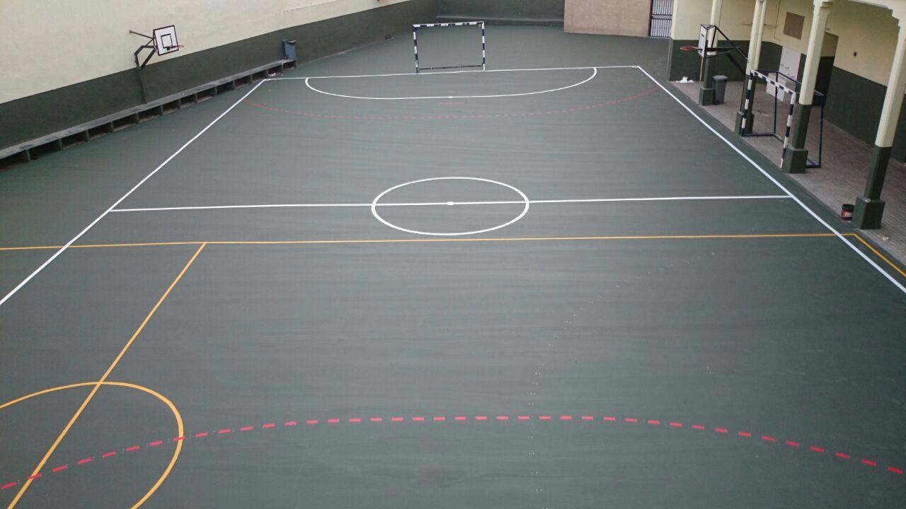 Medidas pista de futbol sala trendy affordable great for Pista de futbol sala medidas